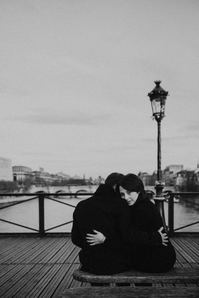 séance engagement Paris au pont des arts