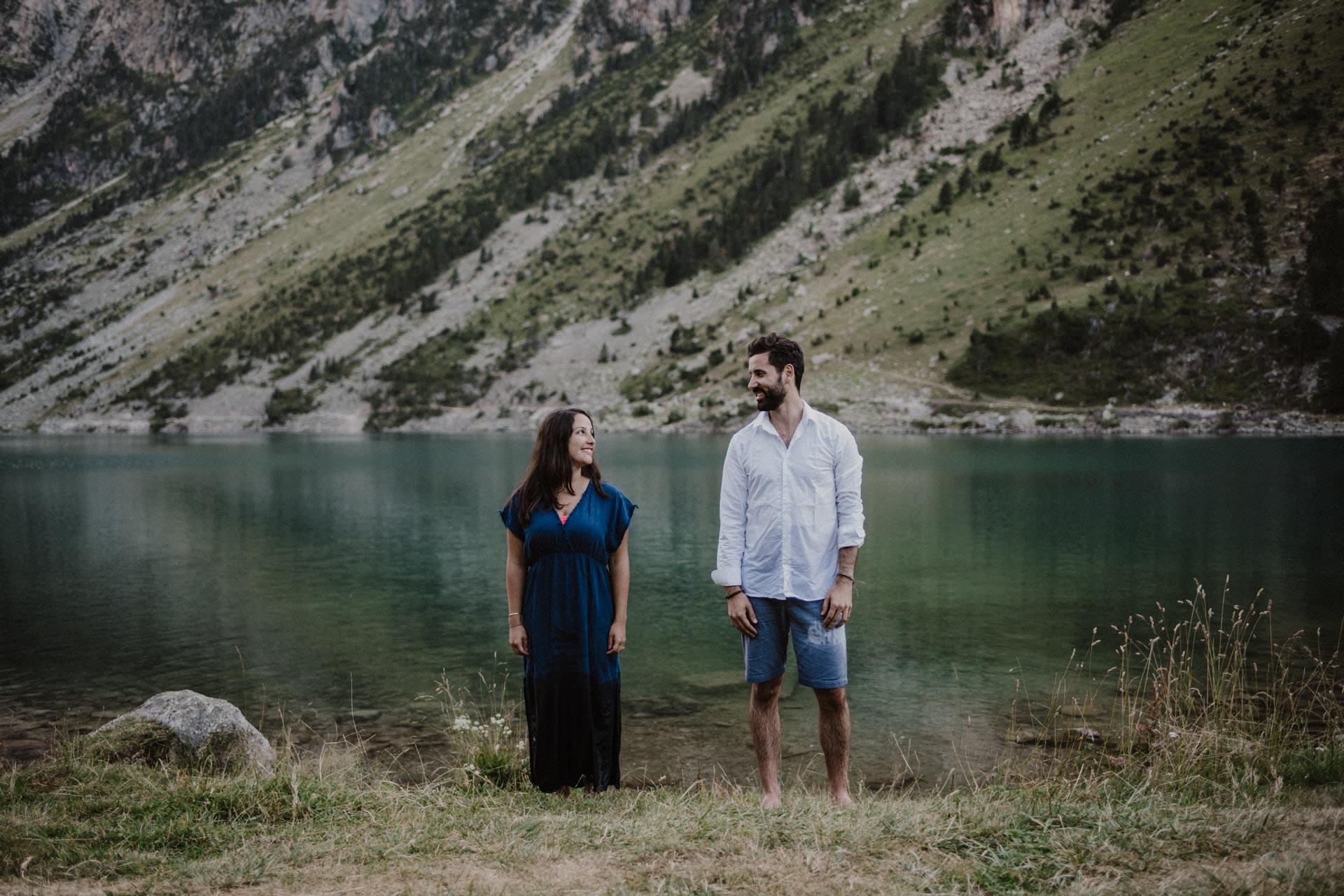 geraldine buis photographe séance couple séance engagement lac de gaube