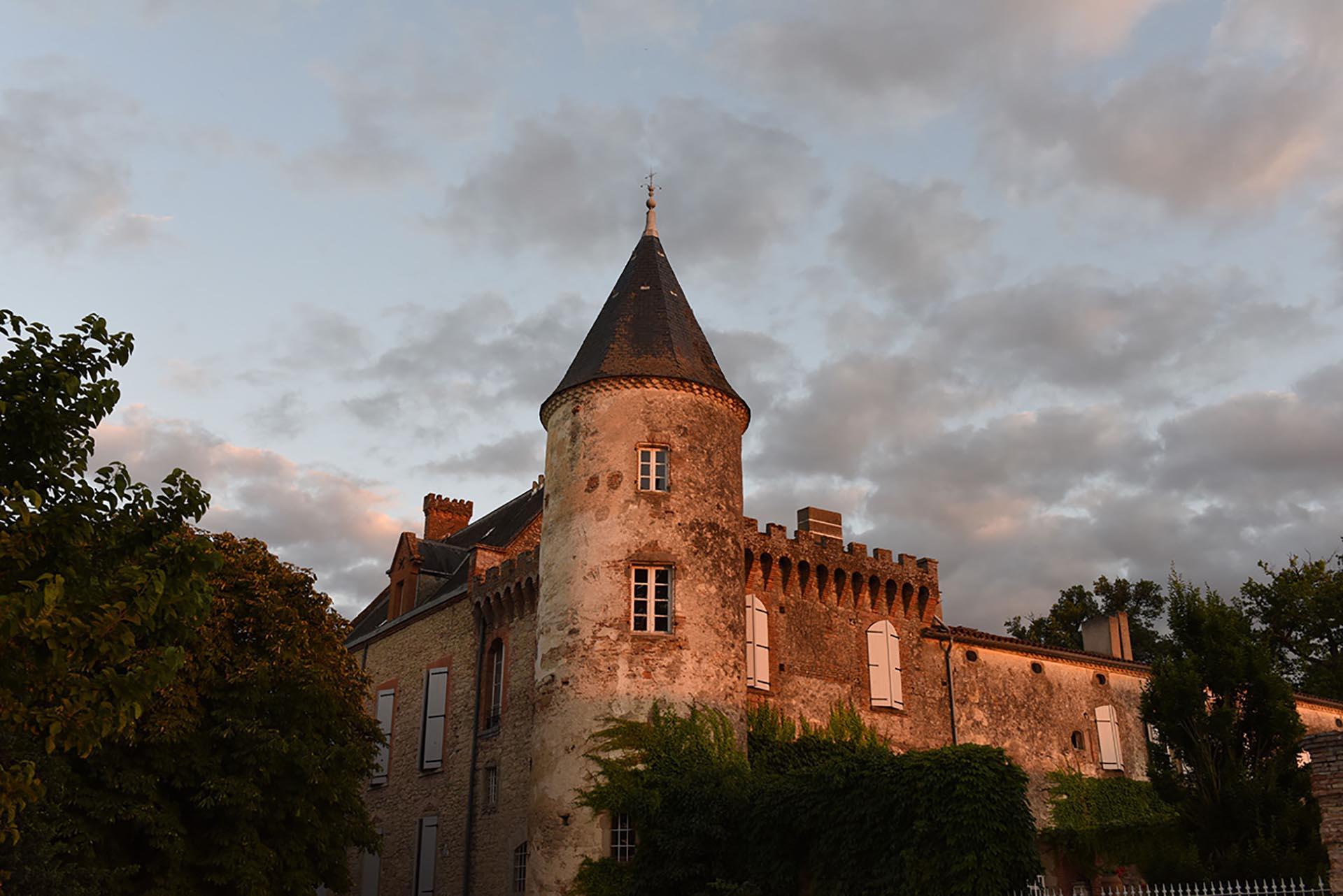 lieu de réception, château du croisillat